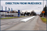 direction from pardubice